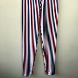 American Apparel Pants - American Apparel Size S Striped High Rise Leggings